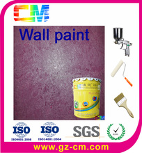 Exterior Interior brush stucco metallic rough texture wall paint
