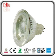 logo spotlight cob led spot light 5W MR16 GU10 halogen 50w glass housing IP65 bathroom outdoor used Dimmable