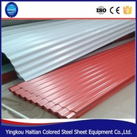 Best Size Color Coated Plastic Corrugated Heat Resistant PVC Roofing Sheet