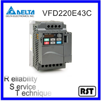 VFD220E43C 30.0HP 22kW 460V Original Taiwan Delta Speed Control AC Motor Variable Frequency Drive Inverter