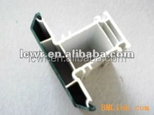 As your requirement 100% PVC grills profiles Length customized for pvc window and door profiles
