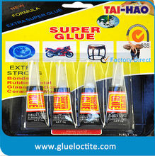 Factory direct super glue 502 bonds instantly
