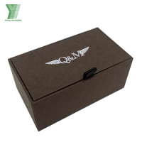 High Quality Custom-made Personal Logo Cufflinks Cardboard Box / Cufflinks Gift Box