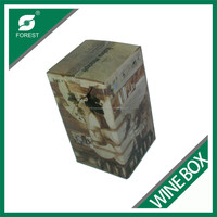 HIGH QUALITY PAPER BOARD VODKA WINE CARTON BOX CORRUGATED SHIPPING BOX WITH FULL COLOR