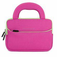 7 ~ 8 inch Tablet Ultra-Portable Neoprene Zipper Carrying Sleeve Case Bag with Accessory Pocket