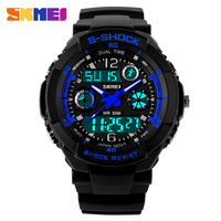 skmei s-shock sports watches multi-function led watch skmei digital watch instructions