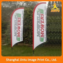 durable in use Outdoor Branding Flying Drop Down Flag Banner