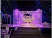 new elegant indian wedding mandap manufacturer / backdrop design sample for wedding and party / wedding mandap new design