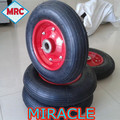 China factory heavey duty industrial rubber wheel 3.50-8 350-8 for south america