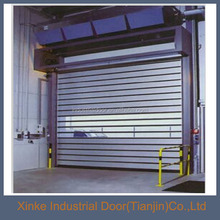 Commercial interior hard metal spirial roll up door HMD-005