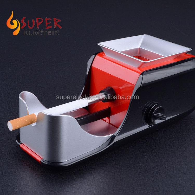 DIY Electric Automatic Metal Cigarette Rolling Machine Tobacco Injector Maker Roller
