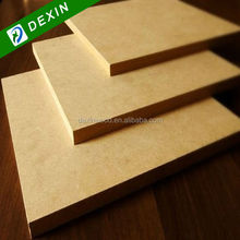 E2 or E1 Grade HDF High Density Wood Fiber Board