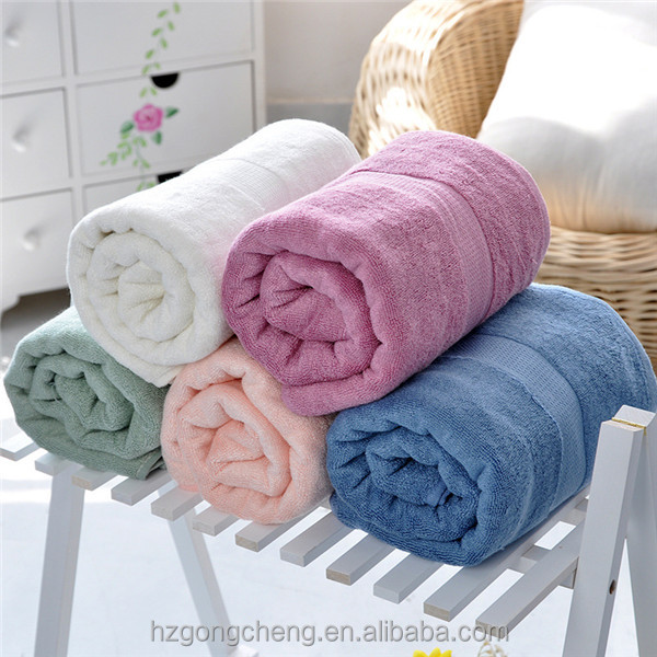70x140cm, Bath Towel, Bamboo Fiber Fabric Towel, Beach Towel, Cheap Price, China
