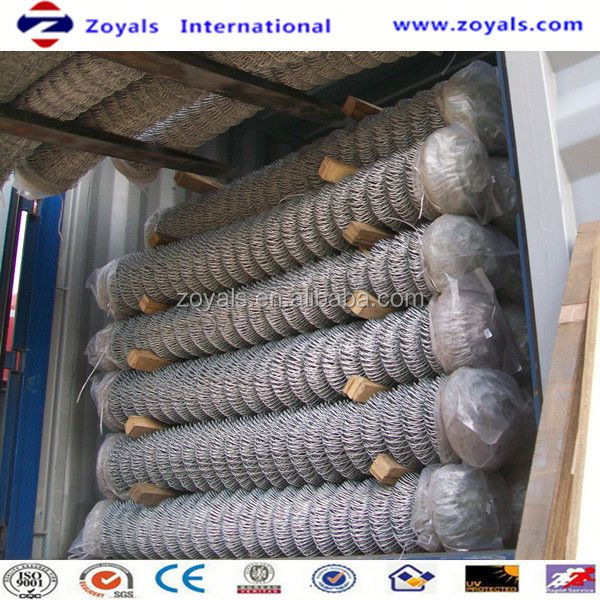 different types of galvanized chain link wire mesh (ISO Factory & Exporter)