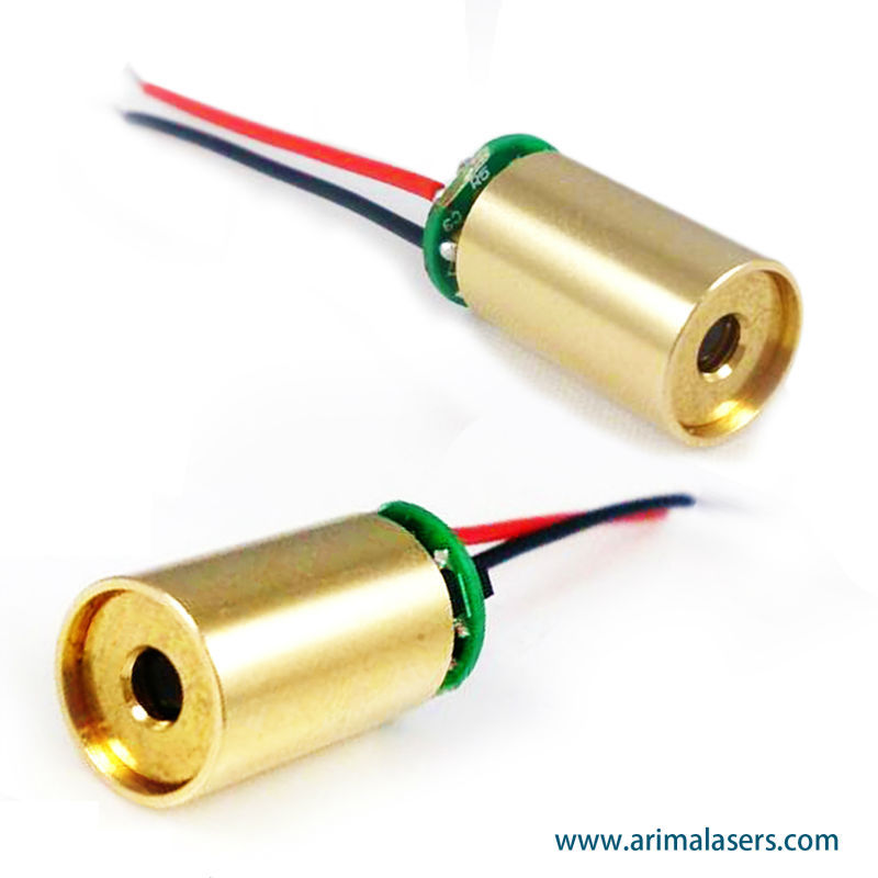 450nm 3mW D8mm Blue Diode Laser Module, Fixed Focus Small Blue Laser Diode Module for Blue Laser Pointer, Lighting