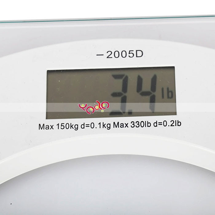 2003B 150KG/100G toughened glass Digital Weighting <strong>Scale</strong>