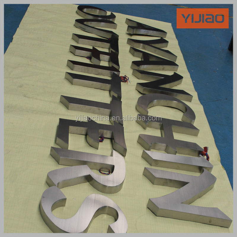 energy saving backlit led letters, storefront signs prices