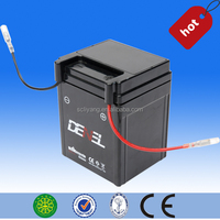 high quality maintenance free motorcycle battery/ scooter battery