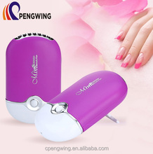 Small Portable Rechargeable Fan USB Nail Dryer Mini Cool Fan for Nails' Beauty