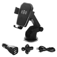 Wireless Car Charger Mount,Air Vent Phone Holder 10W Fast Wireless Charging Car Mount for iPhone X 8 8 Plus