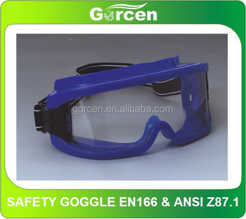 Colorful Anti-Fog Goggles, ANSI Z87.1 Safety Googles