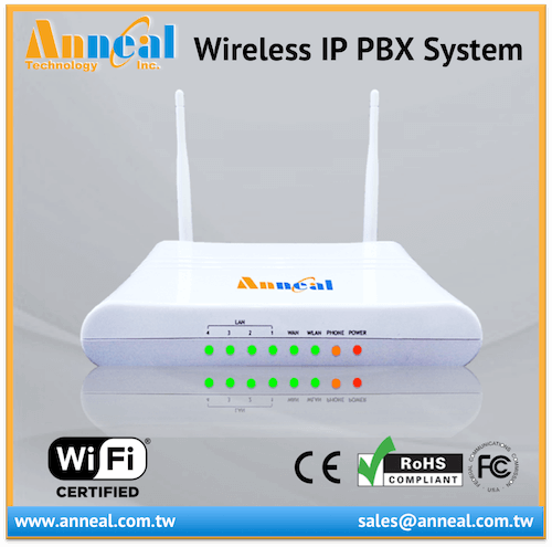 Android iOS Phone SIP APP Support 1 FXO FXS VoIP IP Wireless PBX