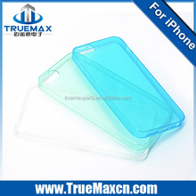 New hot 2014 crystal clear soft TPU case for iphone 5 transparent factory price