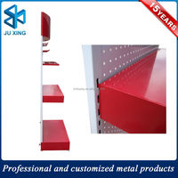 structure auto spare parts storage rack multi-level mezzanine flooring rack from professional manufacturer, display rack