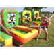 inflatable cannon ball shooting game for kids, inflatable air ball shooting game
