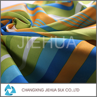 Wholesaler china comfortable and cheap home textile stripe fabric