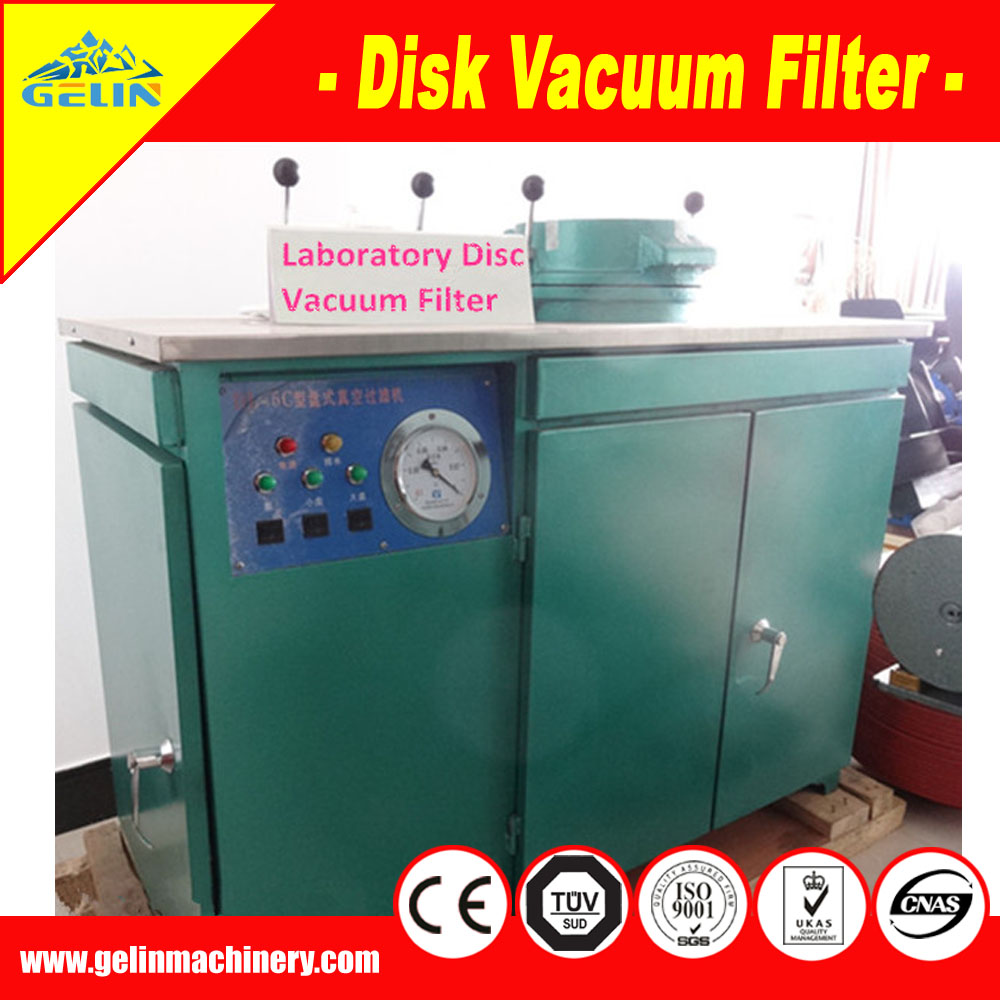 High filtration Efficiency lab vacuum filter for mineral processing