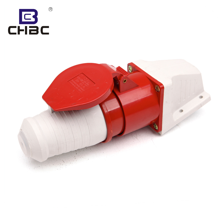 CHBC March Expo Outdoor 3P+N+E IP67 Waterproof Electrical Industry Plug Sockets