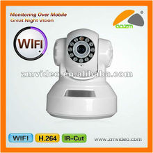 IP Wireless Camera SD Support +IRCUT shenzhen ip camera