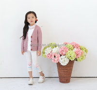 2015 fall sweet girl sweater for young cute baby sweater designs for kids