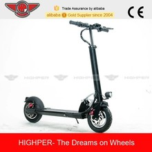 250w brushless motor 10ah lithium battery 10 inch aluminum folding mini 2 wheel electric scooter for adults(HP109E-C)