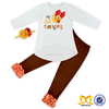 Children Frocks Designs KidsThanksgiving Clothing Set 2016 Turkey Wholesale Children Clothing