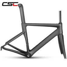 Chinese aero 700c road bike carbon frame Di2&Mechanical bicycle Racing frameset