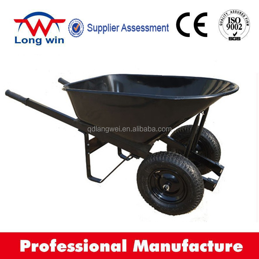100L hand wheel barrow wb9600 wheel barrow bracket