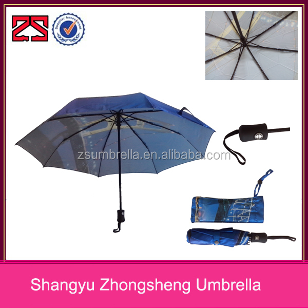OEM 3 folding shenzhen umbrella, auto open close umbrella supplier
