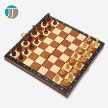 JJ Crafts game set good quality telligent wooden chess set