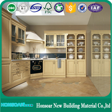 PVC kitchen cabinets doors with Plastic Knob