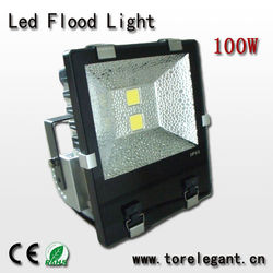 Bridgelux/Epistar chip 100w led flood ztl with CE RoHS EMC LVD