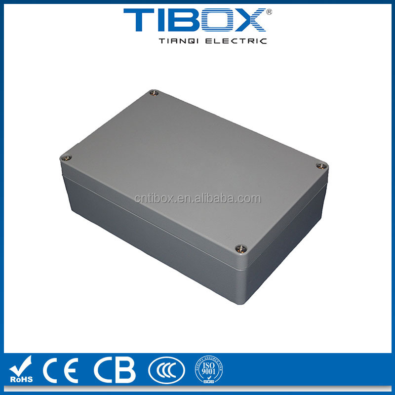 TIBOX Custom Electrical Aluminum Box,aluminum pcb enclosure,waterproof aluminum enclosure box ip65