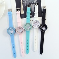 Hot Selling Cute Silicone Wrist Watch Automatic Watch Smart Watch For Girl