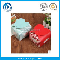 Wholesale fashional design folding paper gift box from manufacturer