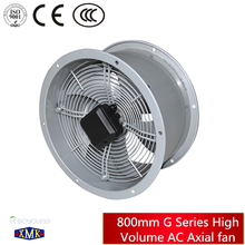 800mm G Series High Volume AC Axial roof ventilator fan