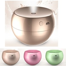 2016 Newest 160ml Apple Aroma Diffuser usb charger battery powered air freshener humidifiers