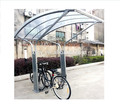 Outdoor galvanized 5 parking position canopy cycle shelter(ISO Approved)