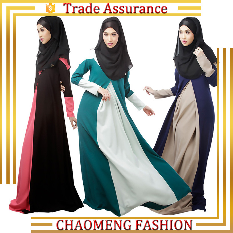 Turkish High Quality Modest Dubai Women Kaftan Abaya Dress For Muslim Islamic Clothing