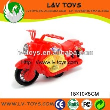 2013 China new pull line motorcycle with light toy candy for kids